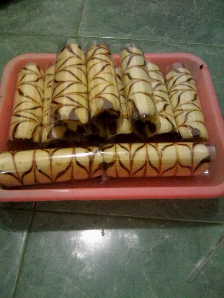 Resep Bolu Batik Kukus Isi Selai Enak Sederhana