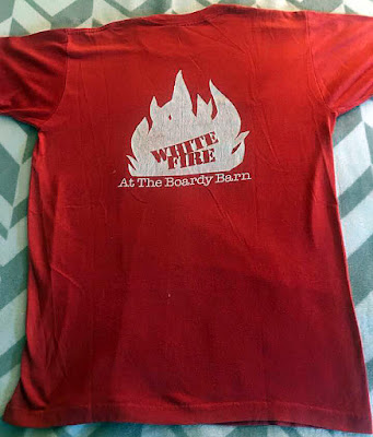 White Fire t-shirt