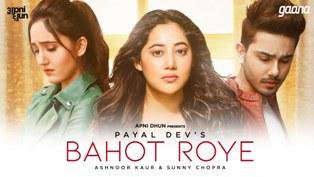 Bahot Roye Lyrics - Payal Dev