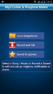 Cara potong Mp3 untuk Ringtone di android