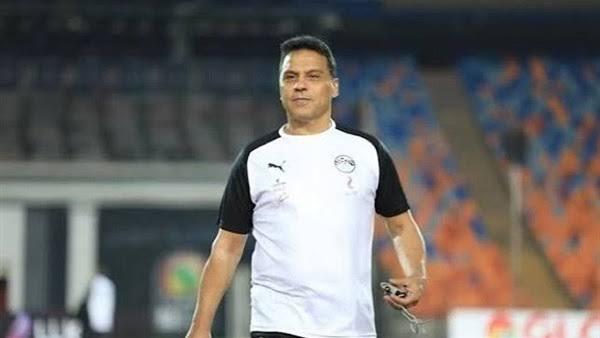 أول مباراةللكابتن : حسام البدرى كمدير  فنى للمنتخب المصري
