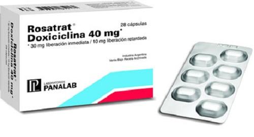 tratamiento doxiciclina para rosacea