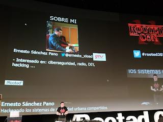 RootedCon 2020 - Ernesto Sánchez Pano - Hackeando los sistema de movilidad urbana compartidas