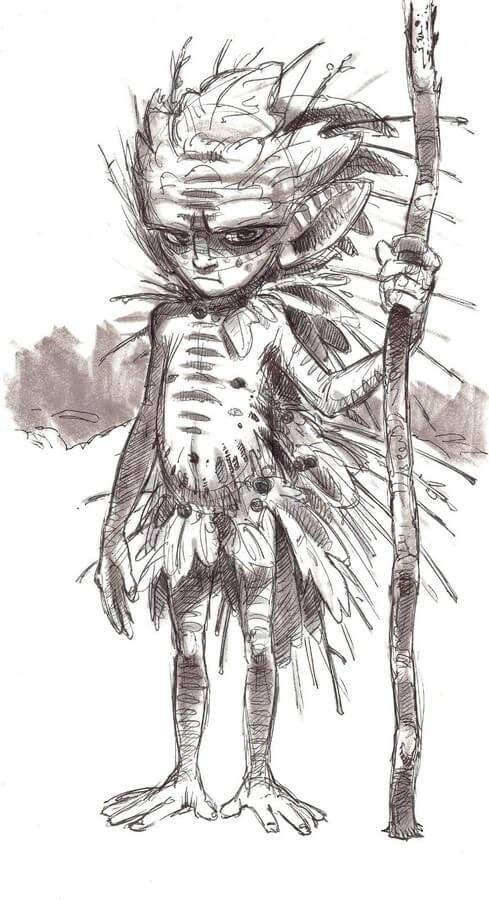 07-Aaron-Blaise-Creature-Sketches-www-designstack-co