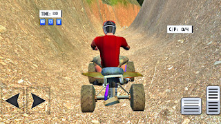 ATV Quad Bike Mountain Driving - apk download | ATV Bike Games | Gadi Wala Game