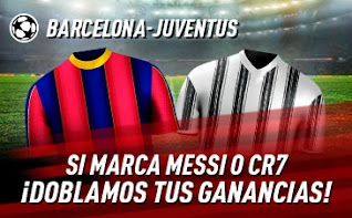 sportium Promo Barcelona vs Juventus 8-12-2020