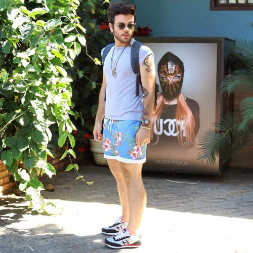 Short Masculino Estampado para usar no carnaval