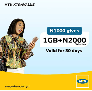 Activate 1GB + N2000 for N1000