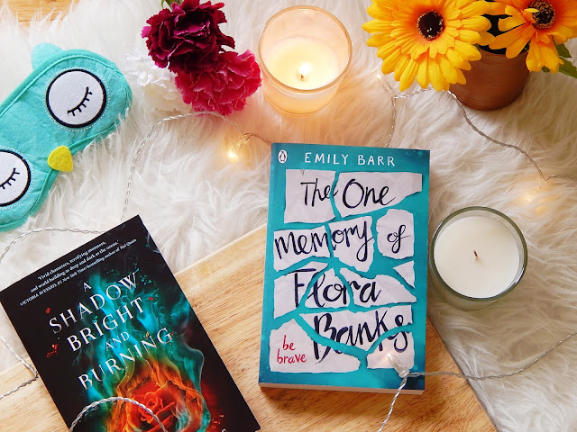 The One Memory Of Flora Banks and A Shadow Bright And Burning | sprinkledpages