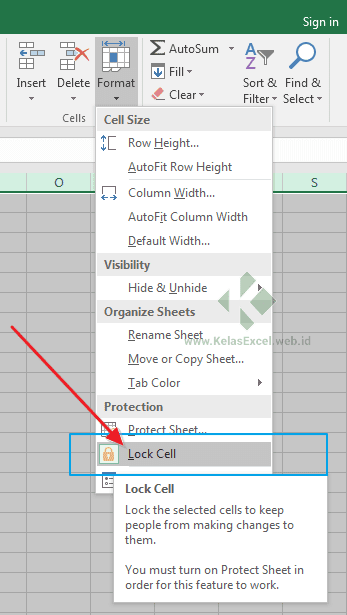 Cara Mengunci Sel Di Excel : mengunci, excel, Memproteksi, Mengunci, Tertentu, Excel