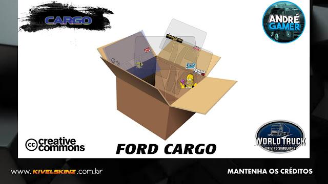 PACK DE SKINS VIDROS WTDS - FORD CARGO
