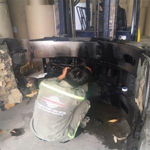 bảo trì sửa chữa xe nâng tại bình dương