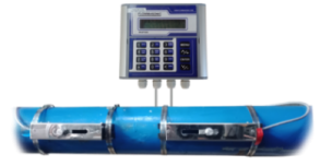 Flow meter Air Jenis Ultrasonic clamp on Flowmasonic WUF 500