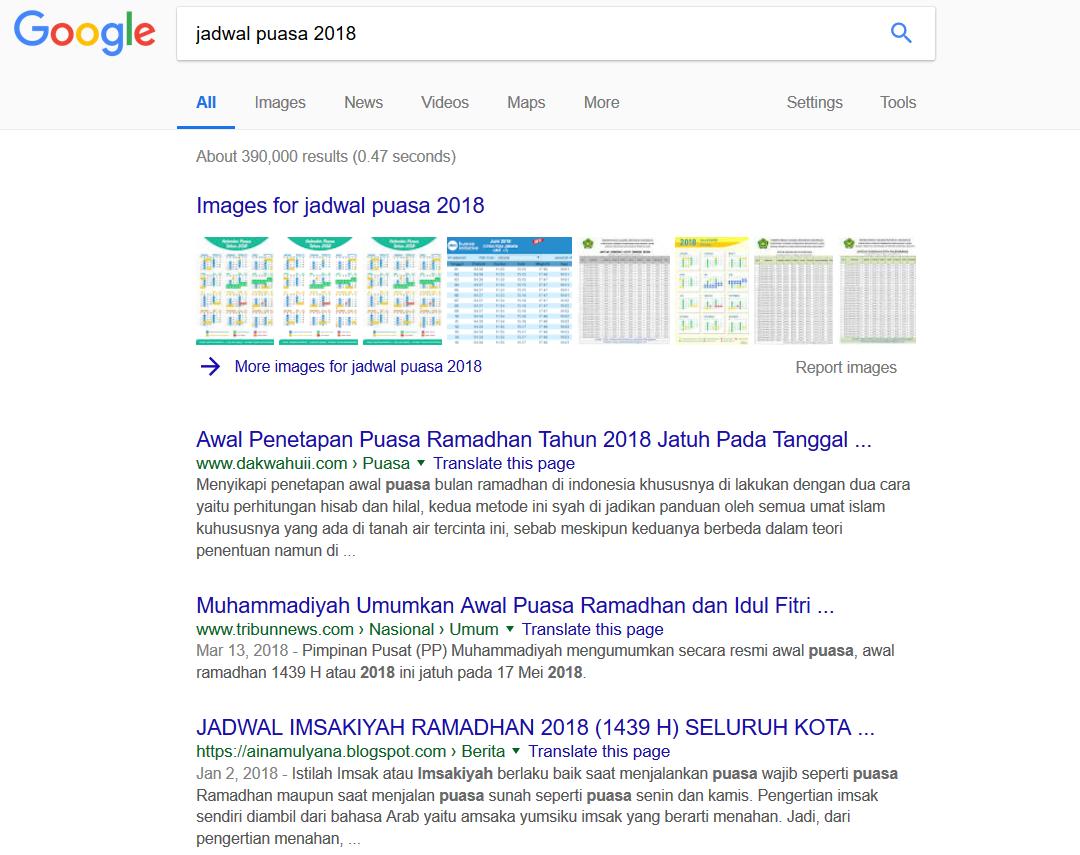 4 Hal yang paling banyak dicari orang Indonesia di Google saat Ramadan