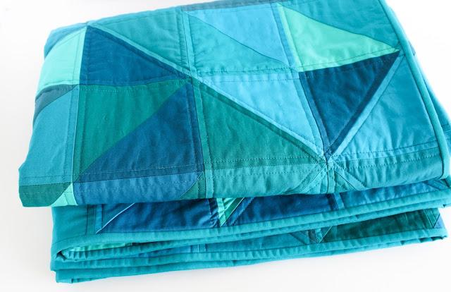 Blue Odyssey Quilt Shannon Fraser Designs
