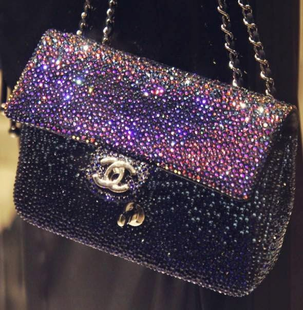 Chanel Crystal Handbag