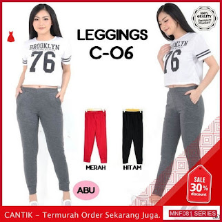 MNF081C119 Celana C Wanita 06 Polos Legging Celana 2019 BMGShop