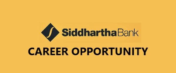 Jobs at Siddhartha Bank