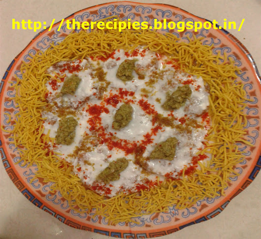 recipe of peanut dahi vada