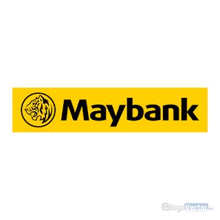 Maybank Logo vector (.cdr)