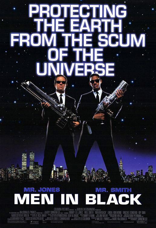 Download Men in Black 1 (1997) Full Movie in Hindi Dual Audio BluRay 720p [1GB]
