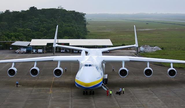 Antonov An-225 Mriya Man Size Ratio