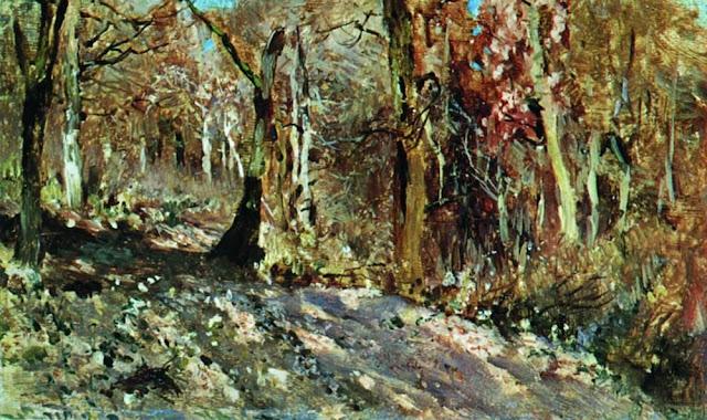 Исаак Ильич Левитан - Осенний лес. 1886