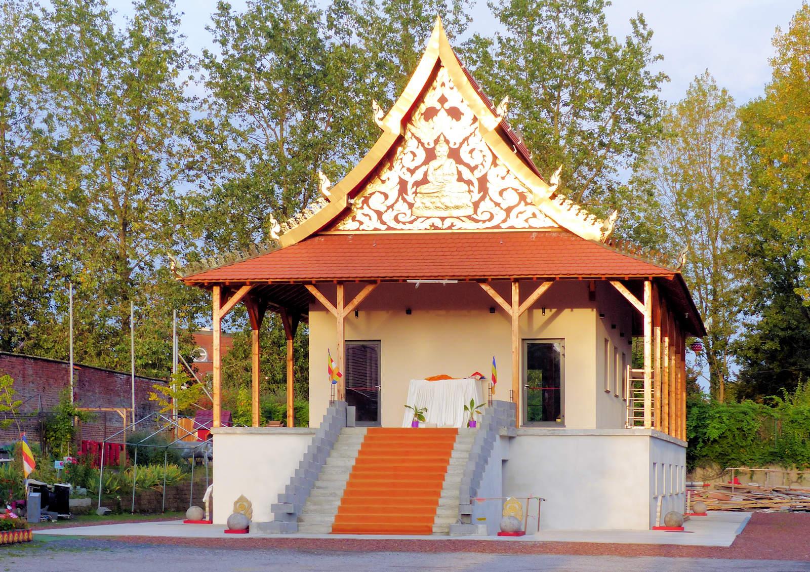 Pagode Laotienne Wat Lao, Roubaix, Bd de Strasbourg.