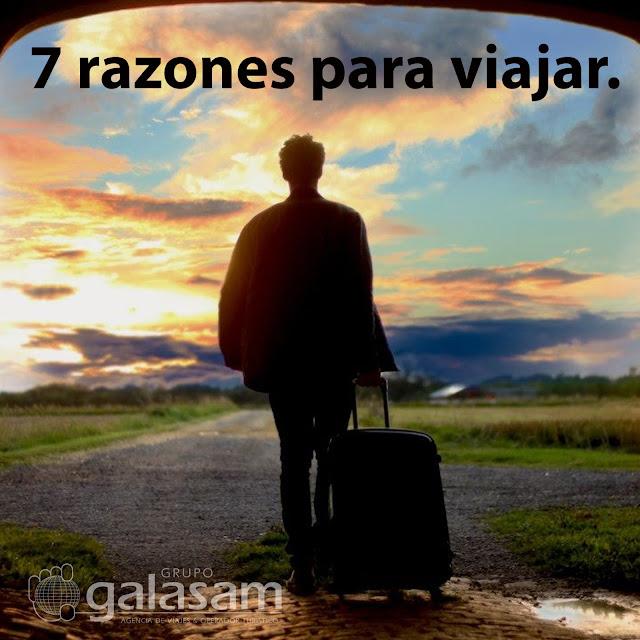 7 razones para viajar.