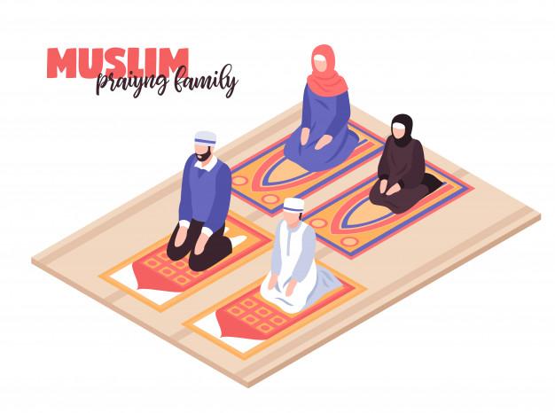 Cara Beribadah Sholat Idul Fitri 1441 H Lengkap di Rumah