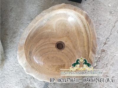 Desain Wastafel Batu Marmer