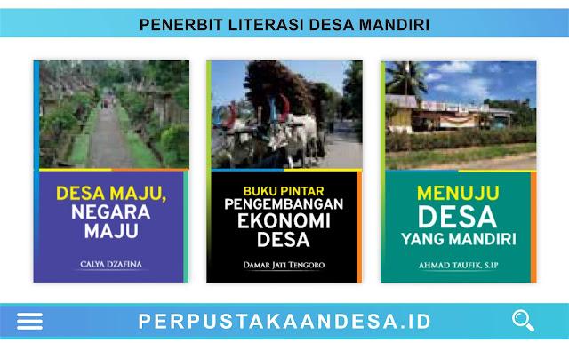 Daftar Judul Buku-Buku Penerbit Literasi Desa Mandiri