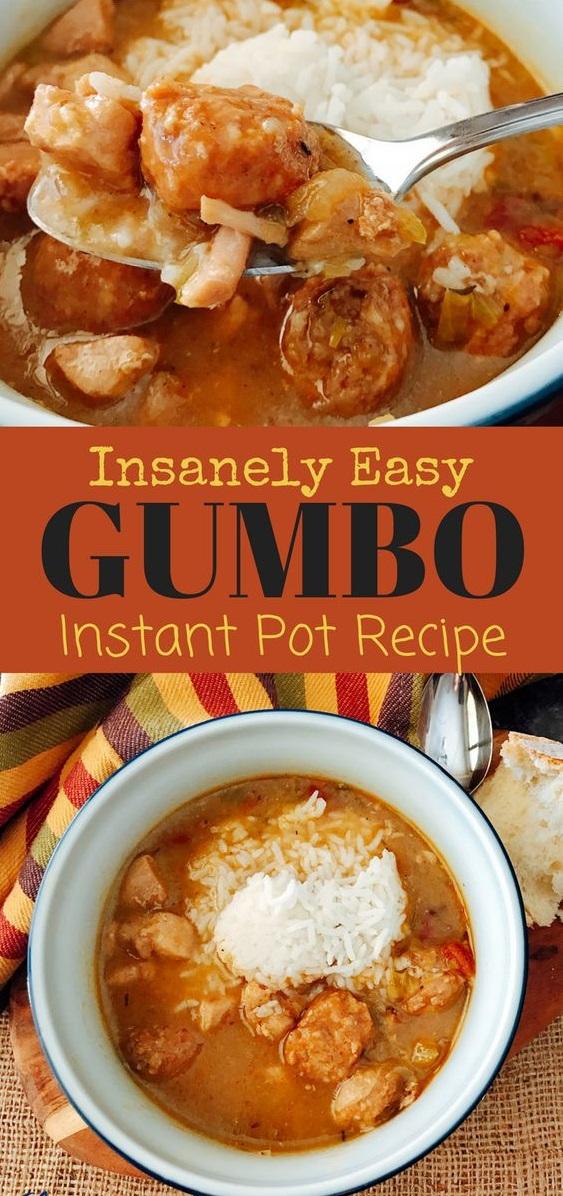 Easy Instant Pot Gumbo Recipe
