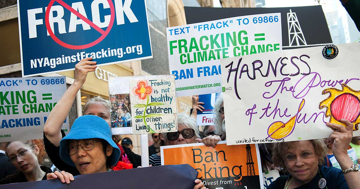 Is Fracking the Cause of Climate Change