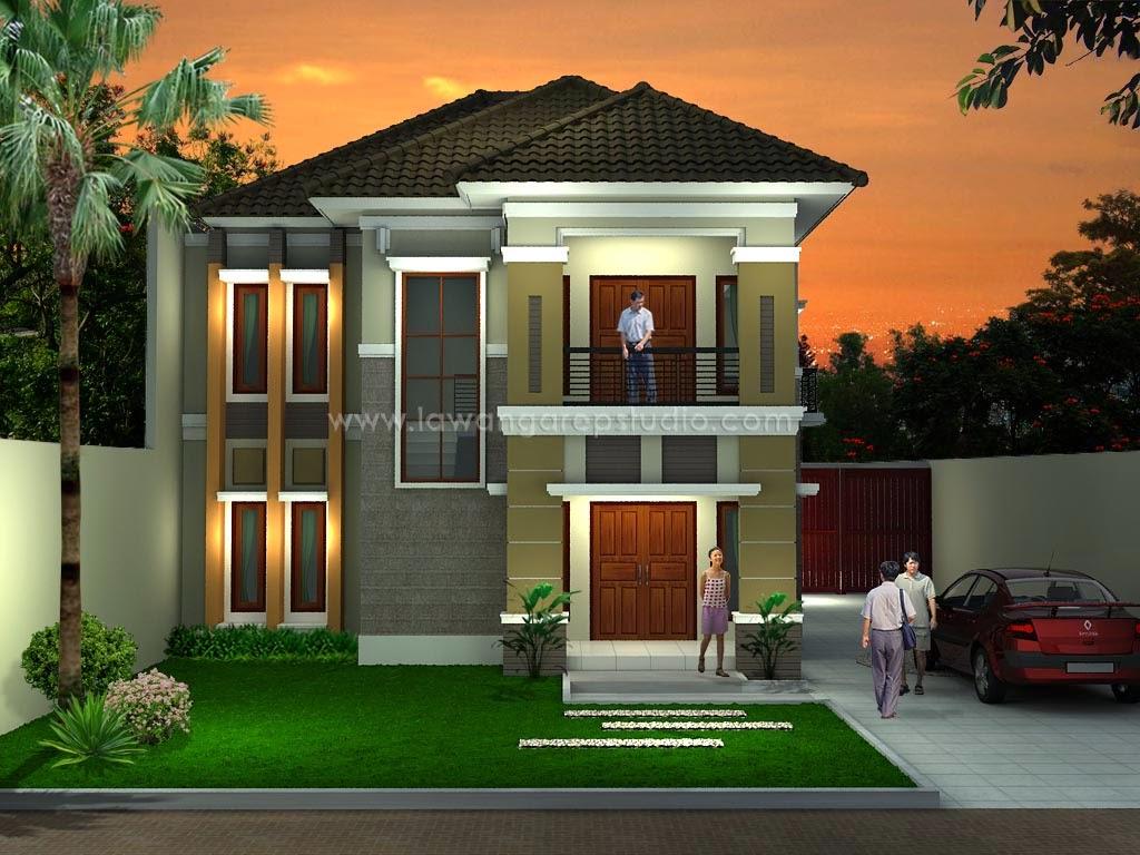Desain Rumah Minimalis 2 Lantai Murah - Gambar Foto Desain ...