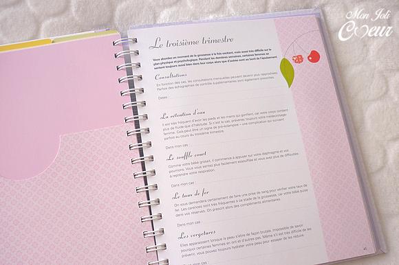 Mon Joli Coeur: Journal de grossesse pour de jolis souvenirs