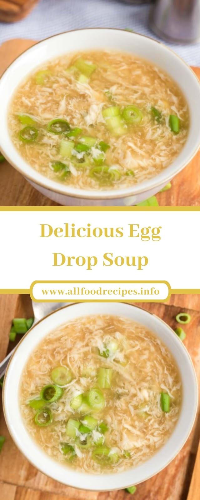 Delicious Egg Drop Soup