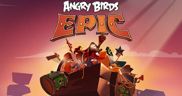 angry birds epic apk data