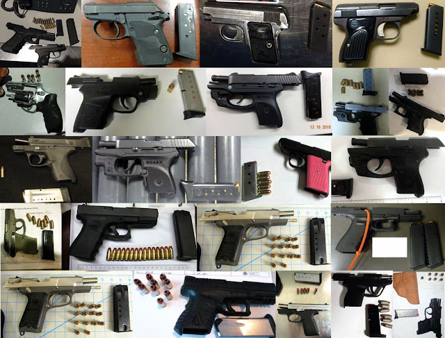 Discovered 52 firearms