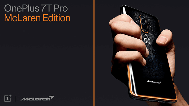 OnePlus 7T Pro McLaren Edition with 12GB RAM announced!