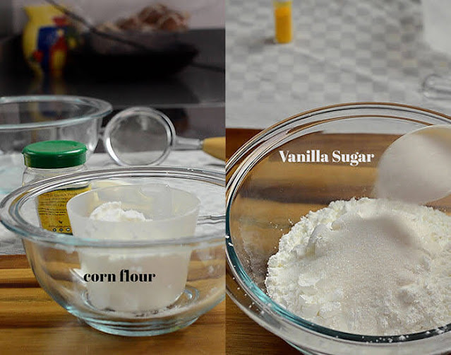 Cornflour to make custard powder