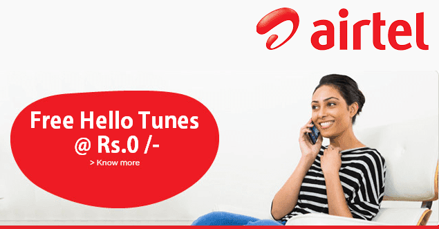 set airtel caller tune oct info point