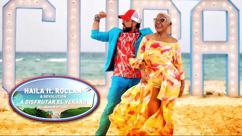 Haila y Roclan & Revolution - ¨A disfrutar el Verano¨ - Videoclip - Director: Manuel Ortega. Portal Del Vídeo Clip Cubano