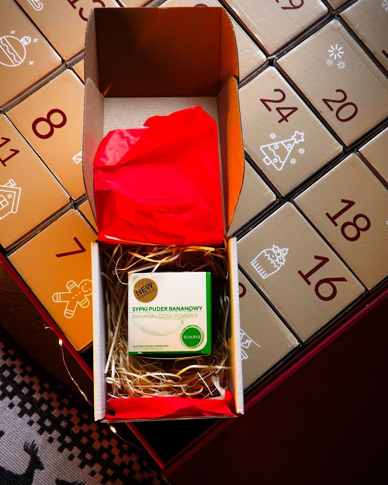 Naturalny kalendarz adwentowy NATI BOX od Nati Nati,