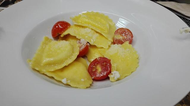 Pasta rellena en Pasta Mito, Tusolovive Madrid