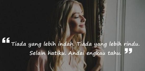Quote Rindu Dewi Lestari
