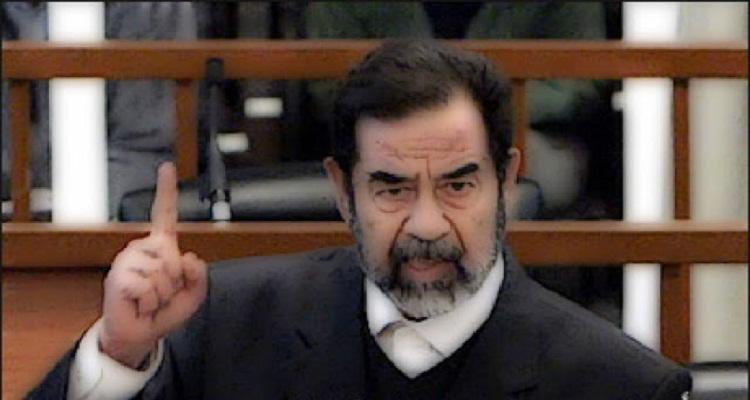 الفيديو الممنوع لصدام حسين .. هز امريكا والعالم العربى ساعات قليله بعد نشره على النت