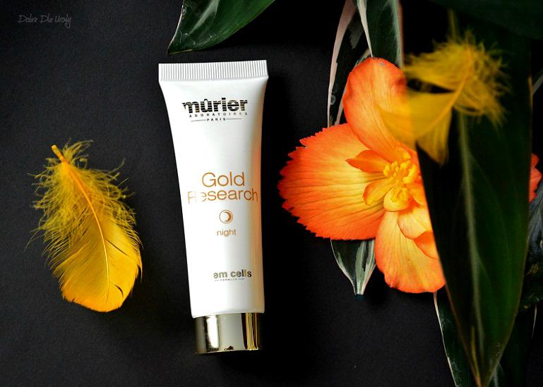 Murier Gold Research - Krem na noc ze złotem koloidalnym i komórkami macierzystymi