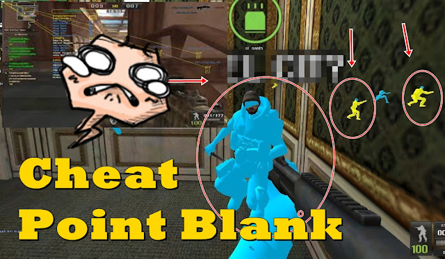 Macam-macam cheat mematikan di Game Point Blank Terbaru