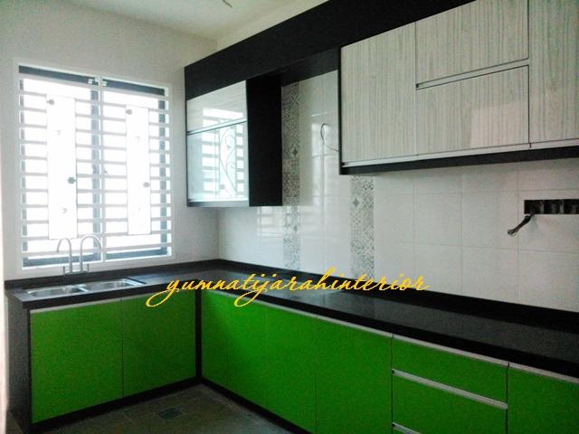 Kabinet Dapur U Pinang Moden Di Seberang Perai Desainrumahid